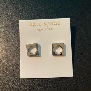 kate spade Jewelry - Kate Spade Sterling Silver Spade Stud Earrings